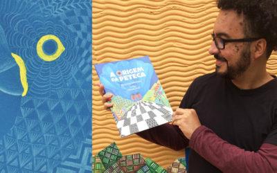 """Entrevista: professor Vinícius fala sobre o seu livro """"A origem da Peteca"""""""
